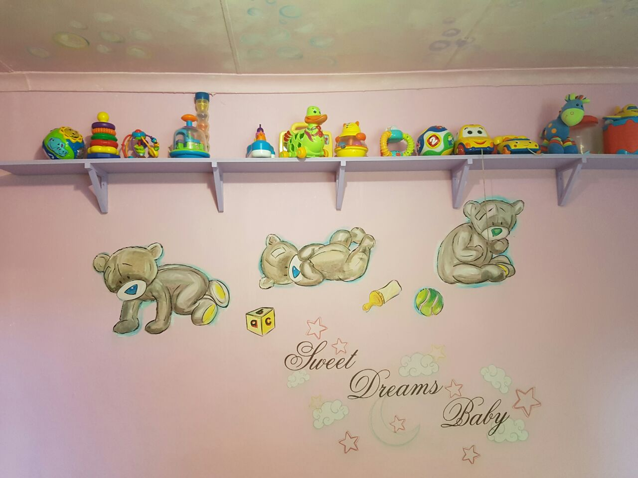 Care Bears Baby Room