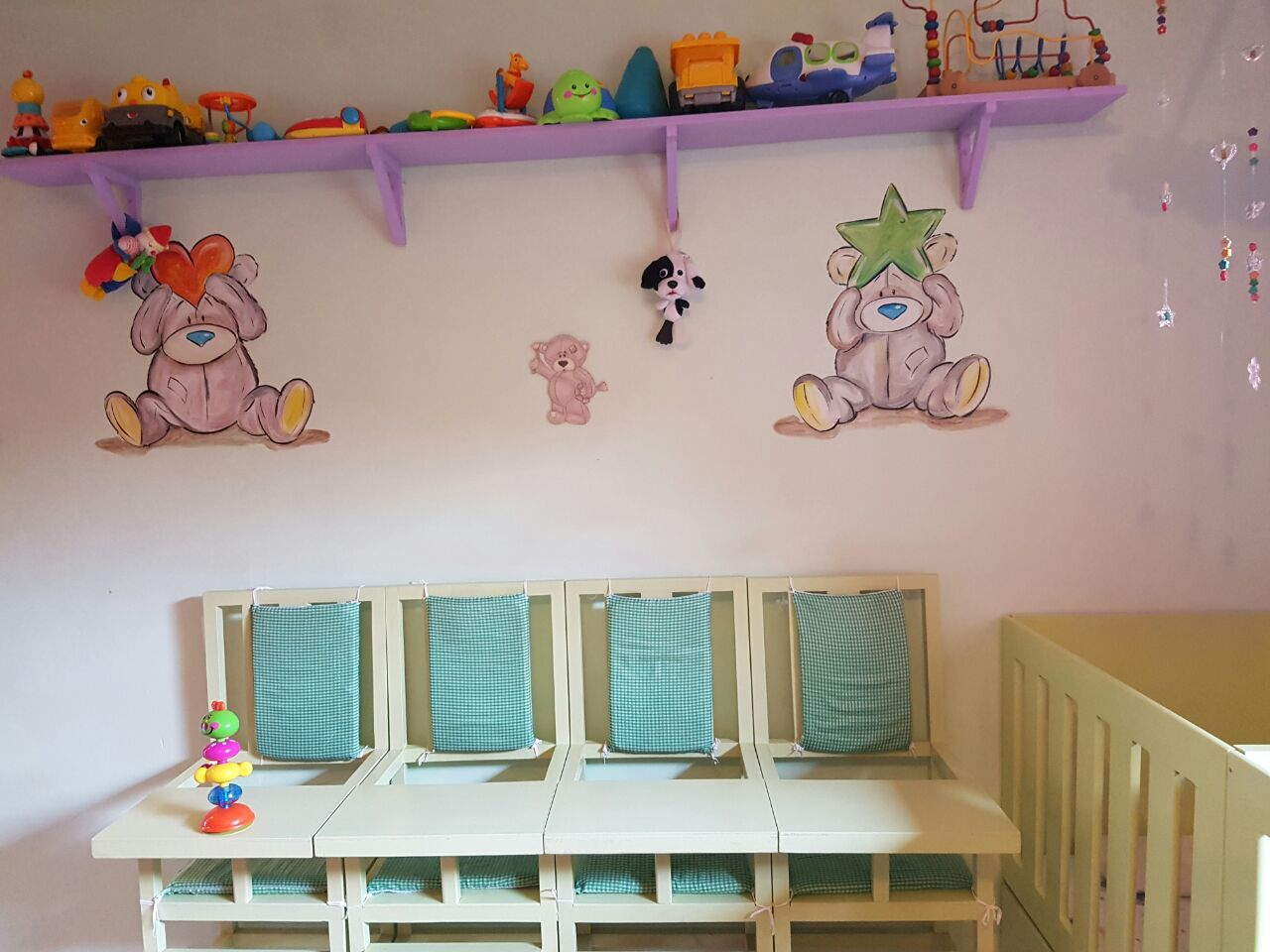 Care Bears Feeding Chairs
